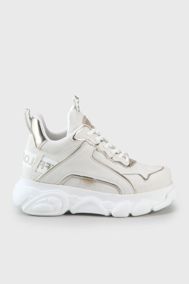 SNEAKERSY 1630498-offwht / gold