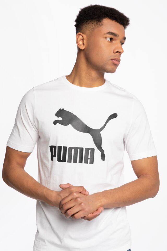 Classics Logo Tee Puma White 53008802