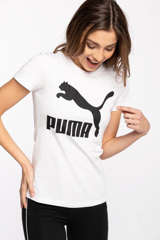 Classics Logo Tee Puma White 53007602