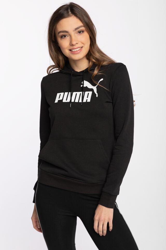 ESS Logo Hoodie TR Puma Black 58679101