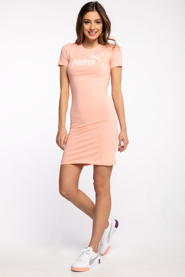 SUKIENKA MINI ESS Slim Tee Dress Apricot Blush 58691026