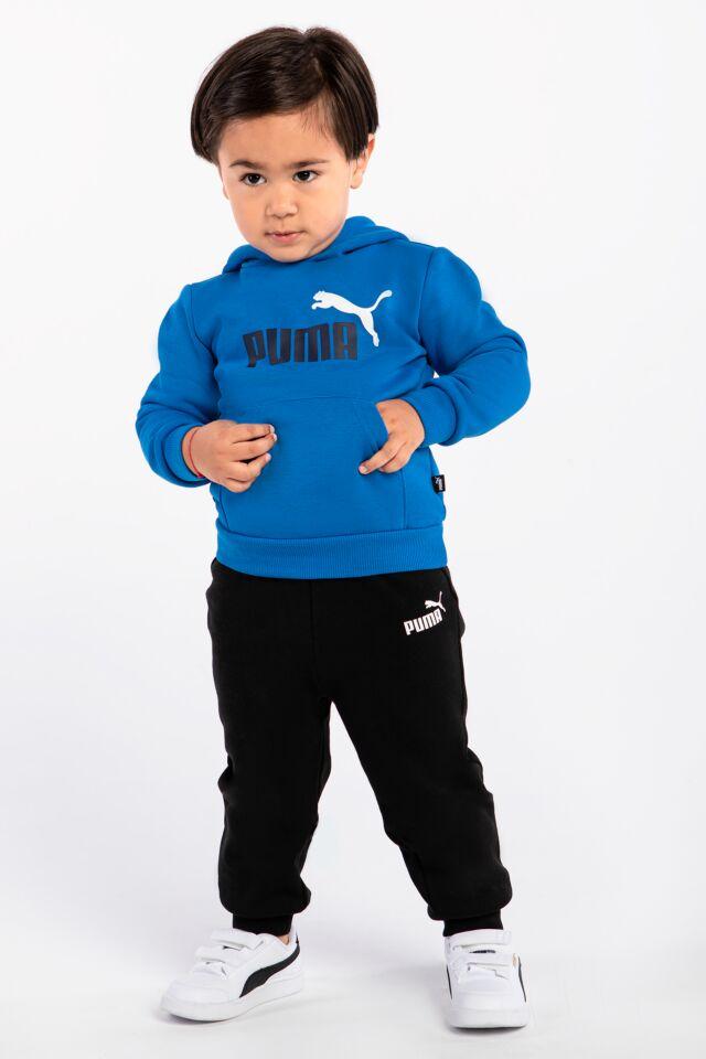 Dziecięce  dresowe ESS Logo Pants FL cl B Black 58697301