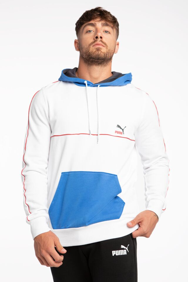 CLSX Piped Hoodie TR White 53170502