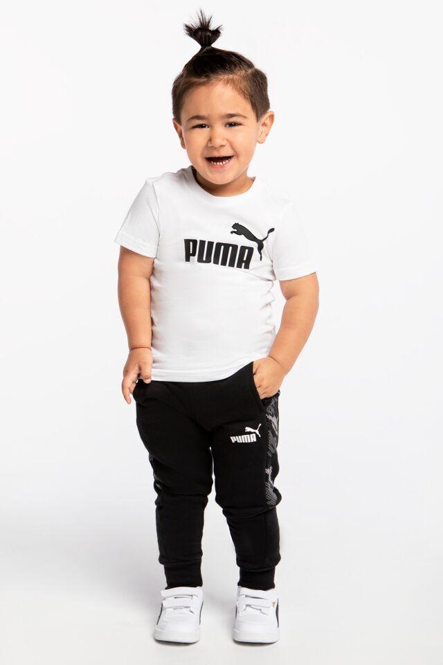 Dziecięce  dresowe Graphic Sweatpants FL cl B Black 58935901