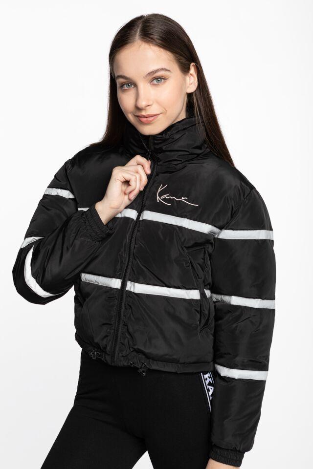 KK Chest Signature Short Puffer Jacket black 6176248