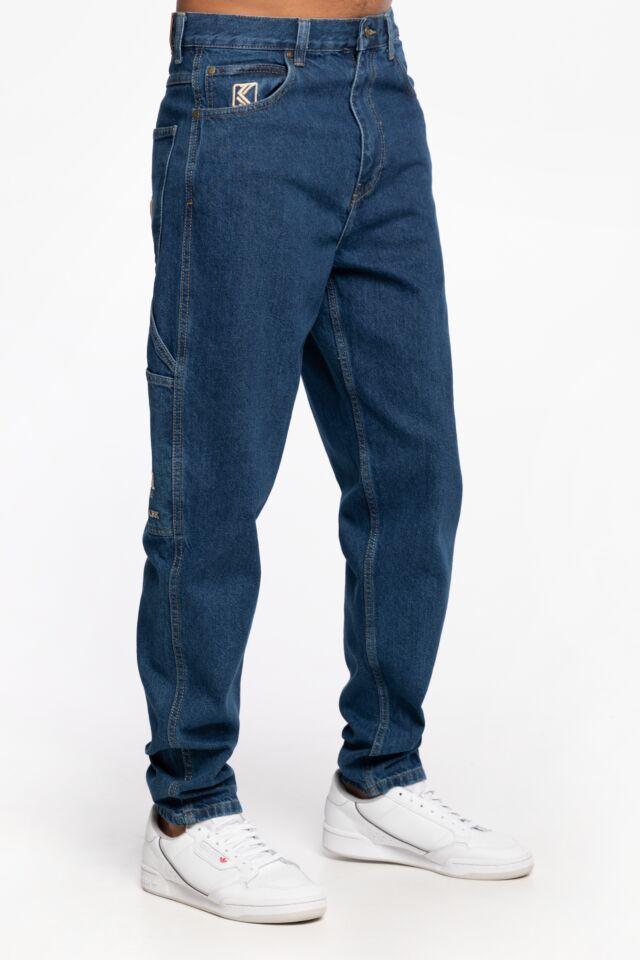 JEANSOWE KK OG Rinse Denim Pants mid blue 6000752