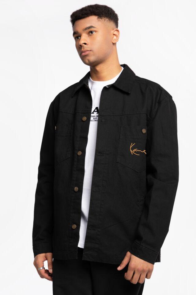 KK Small Signature Shirt Jacket black 6087086
