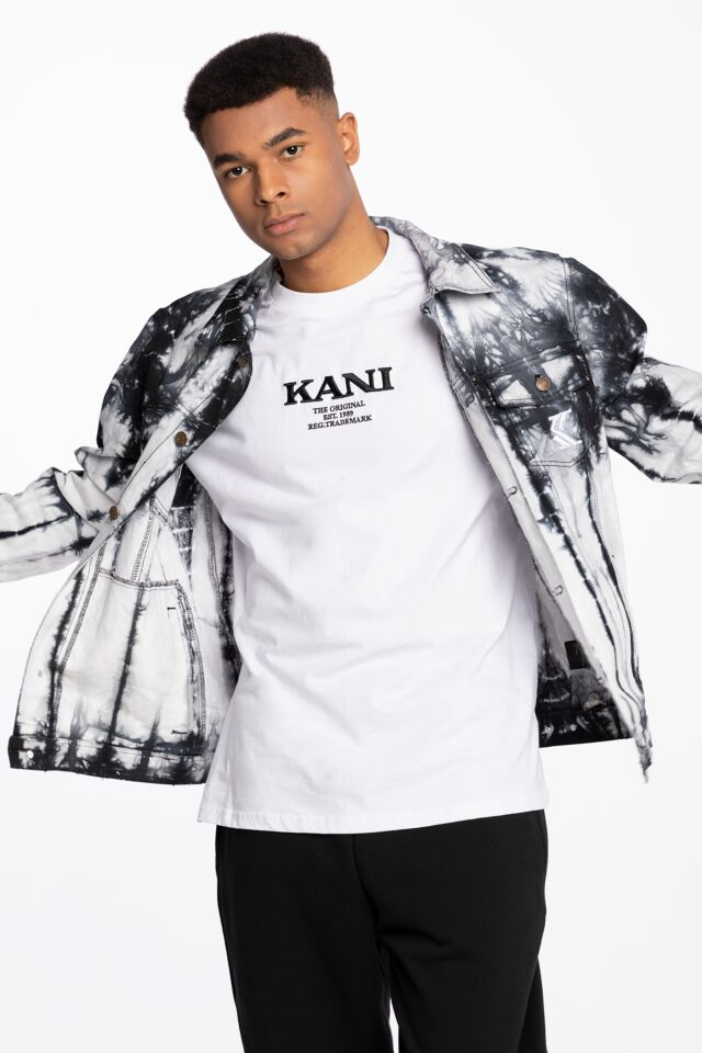 KK OG Tie Dye Trucker Jacket white 6087088