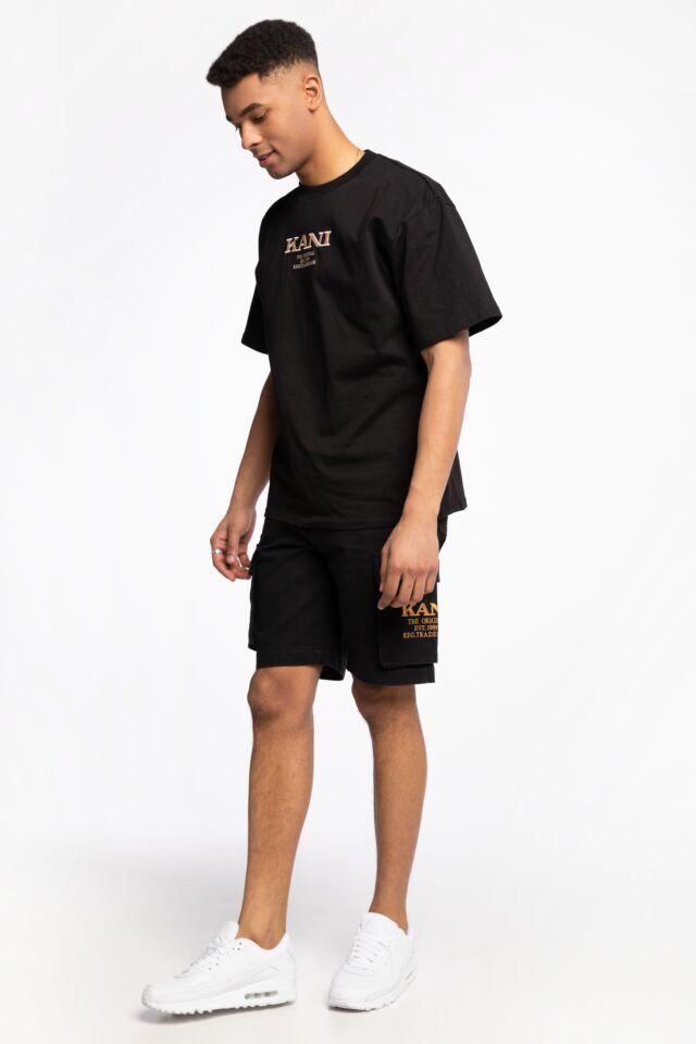 SPODNIE JEANSOWE KK OG Cargo Shorts black 6012121