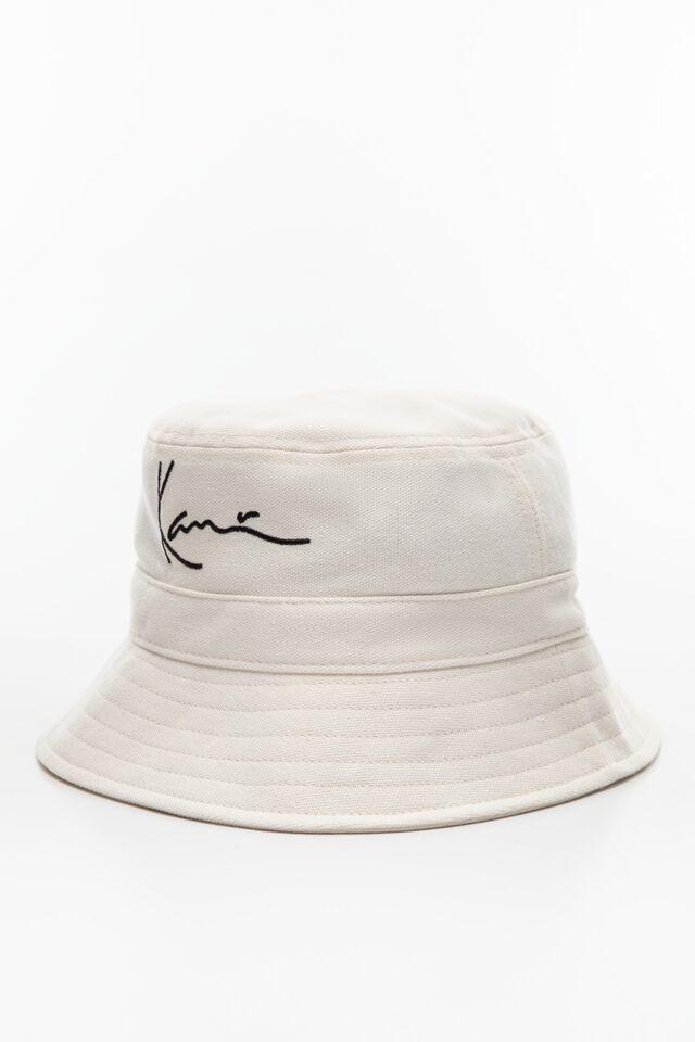 BUCKET HAT KK Signature Bucket Hat off white 7115076