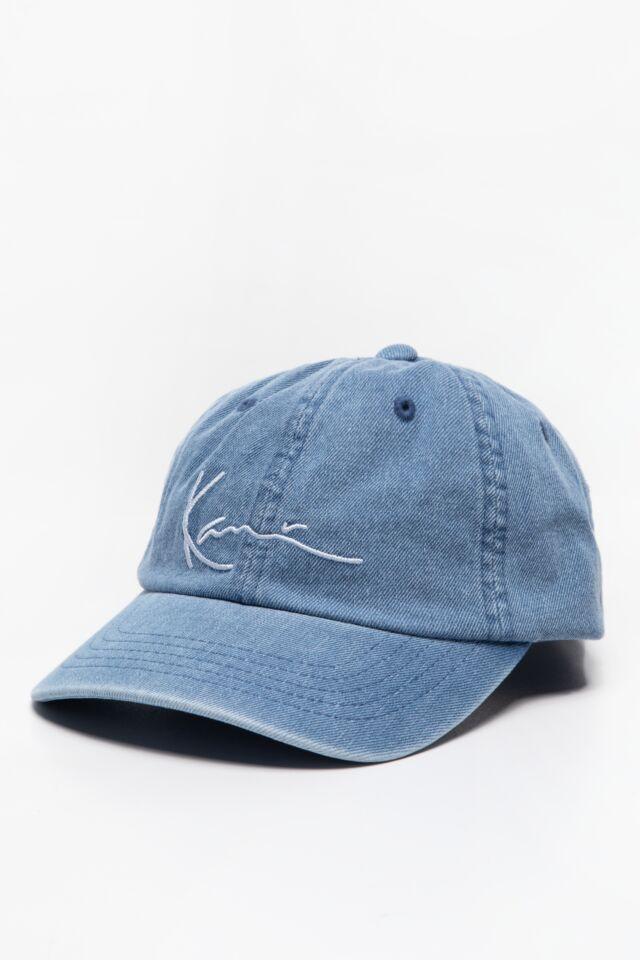 CZAPKA Z DASZKIEM KK Signature Denim Cap blue 7030814