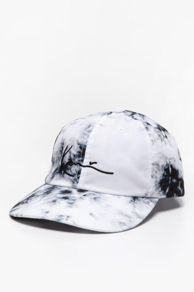 CZAPKA Z DASZKIEM KK Signature Tiedye Cap white 7030818