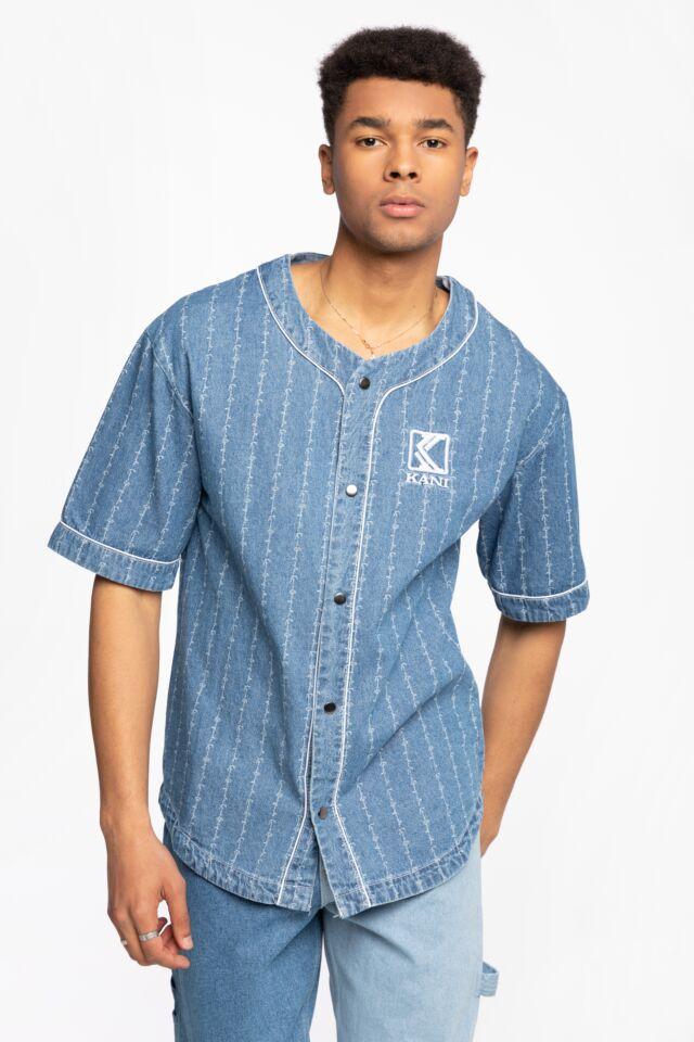 KK OG Denim Baseball Jersey blue 6035463
