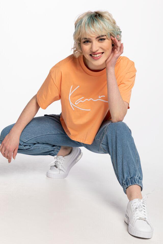 KK Signature Tee light orange 6138992