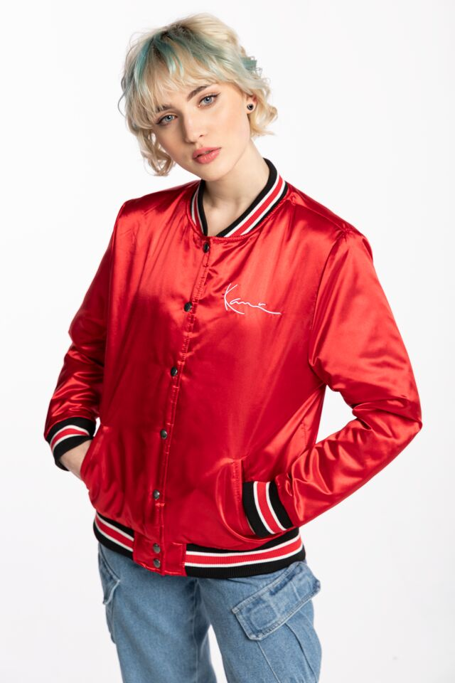 BEJSBOLÓWKA KK Small Signature College Jacket red 6185000