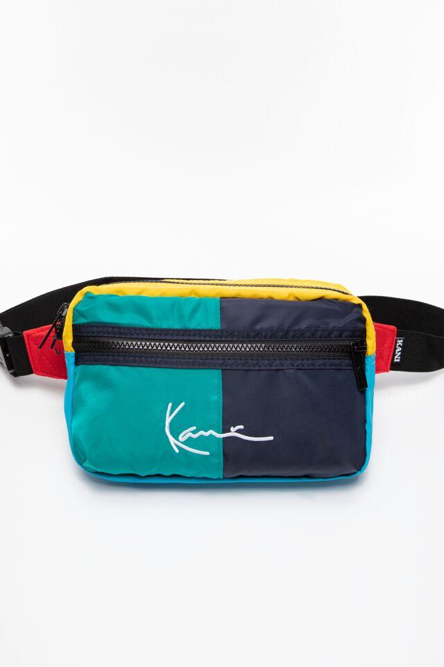 NERKA KK Signature Block Hip Bag green 4004371