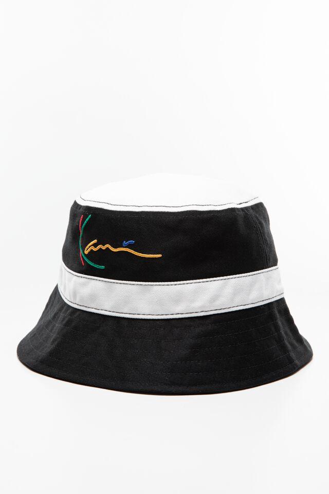 CZAPKA TYPU BUCKET HAT KK Signature Bucket Hat black 7115081