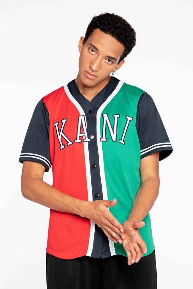 College Block Baseball Shirt red 6035459