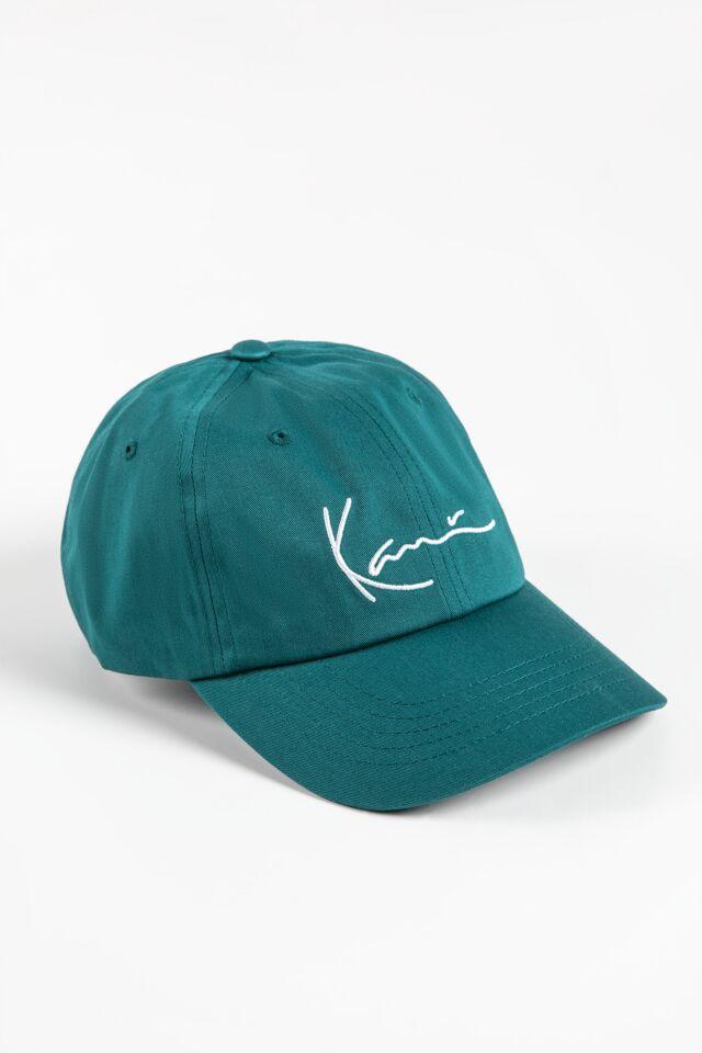 CZAPKA Z DASZKIEM KK Signature Cap green 7004001