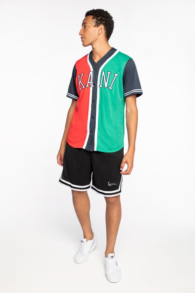 KK Signature Mesh Shorts black/white 6014432