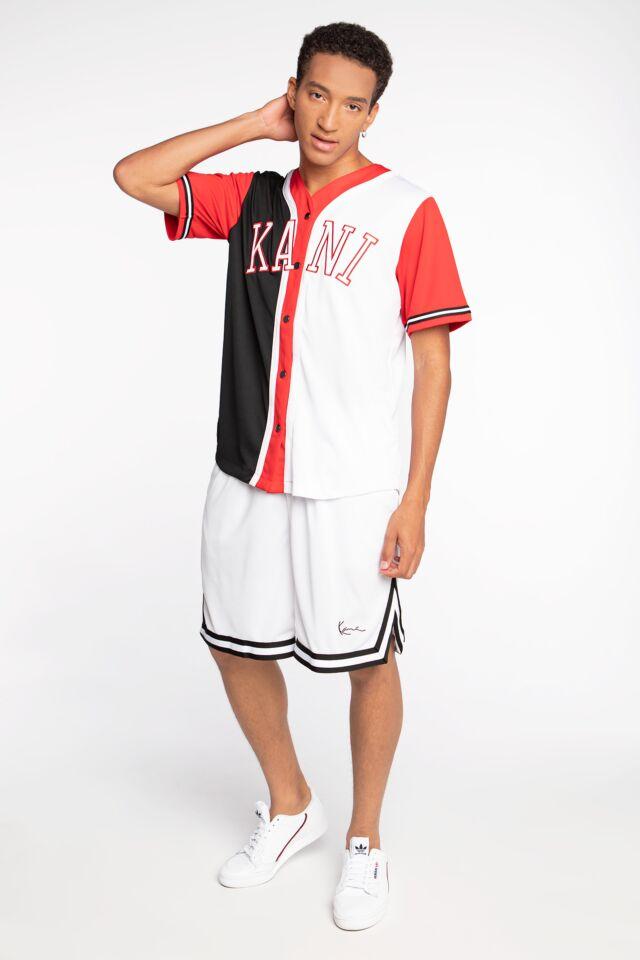 KRÓTKIE  KK Signature Mesh Shorts white/black 6014433