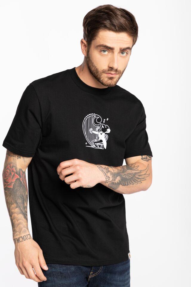 Z KRÓTKIM RĘKAWEM S/S Harp T-Shirt I029933-8990