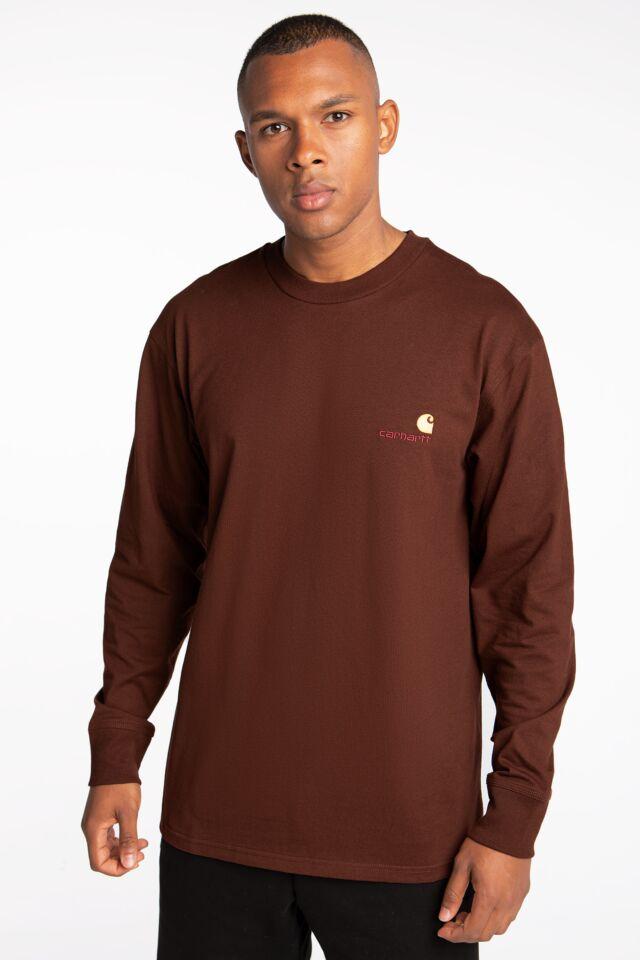 WIP L/S American Script T-Shirt I029955-0EGXX