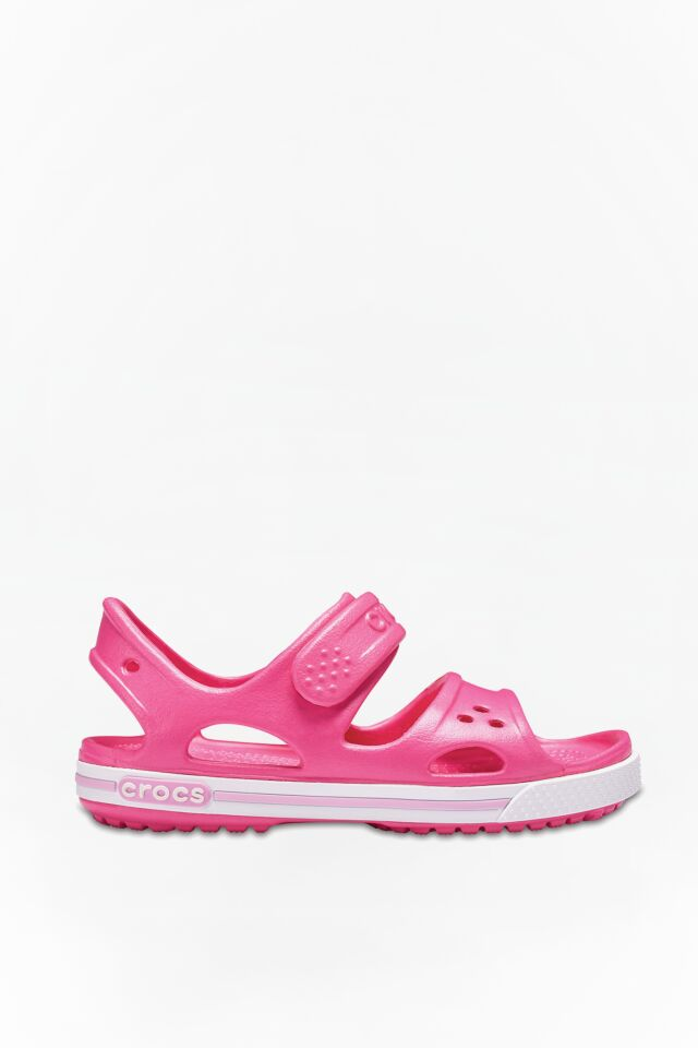 CROCBAND II SANDAL PS 66I PINK/CARNATION