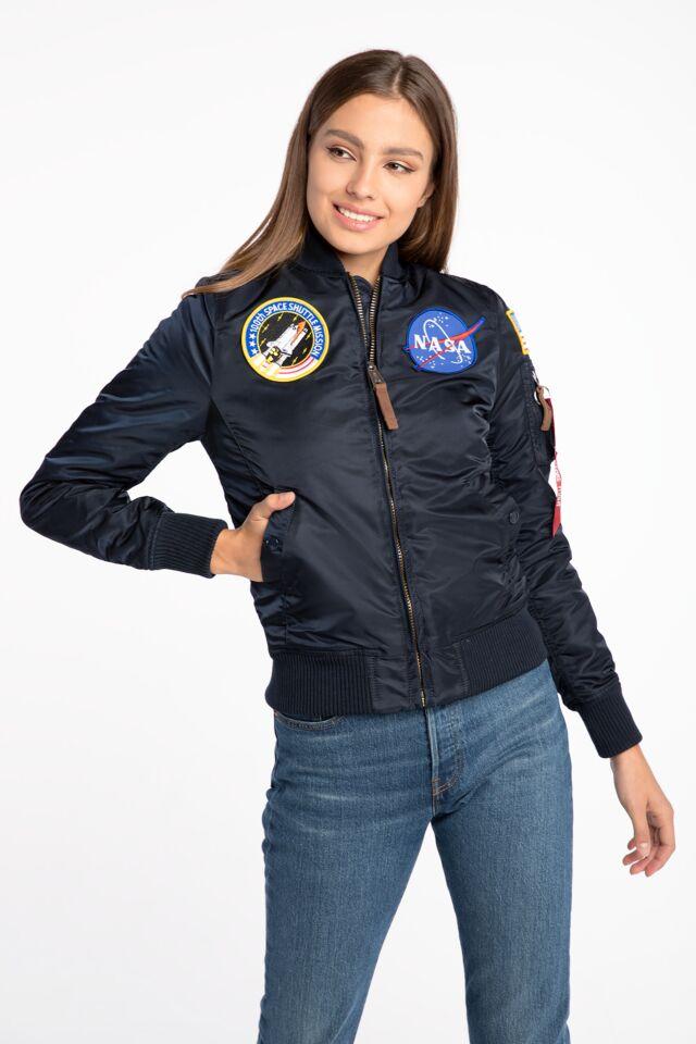 Alpha Industries MA-1 VF NASA Wmn 168007-07