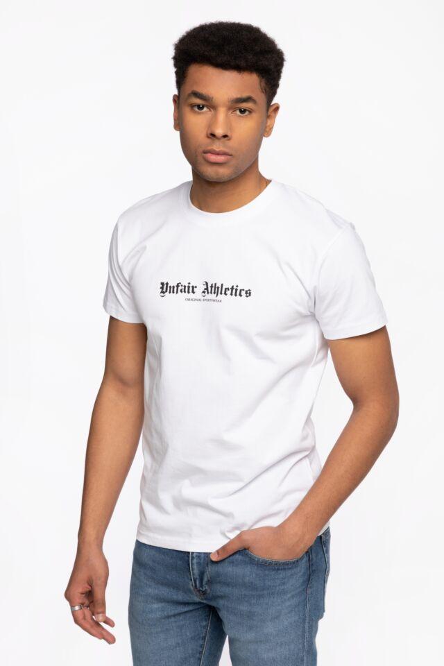 Z KRÓTKIM RĘKAWEM OG Sportswear T-Shirt White White UNFR21-002