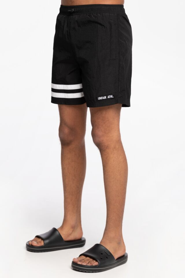 DMWU Crushed Shorts Black Black UNFR21-016