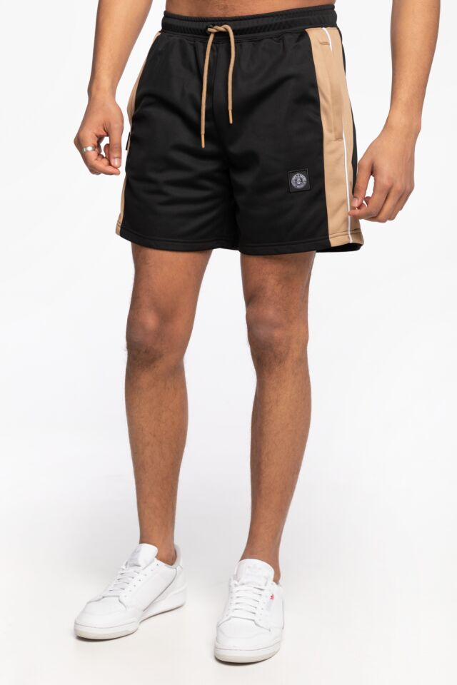 KRÓTKIE  DMWU Patch Shorts Khaki/Black Khaki UNFR21-021