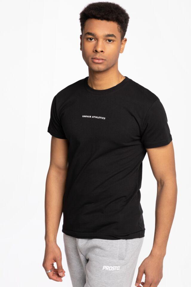 Z KRÓTKIM RĘKAWEM My Goodness T-Shirt Black UNFR21-046