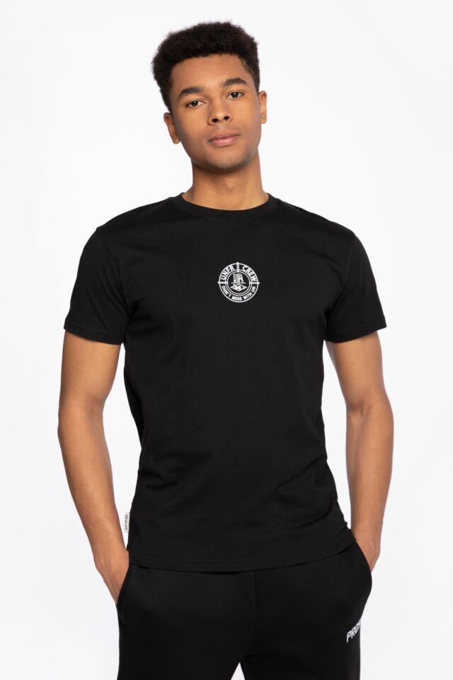 Z KRÓTKIM RĘKAWEM F*** Off T-Shirt Black UNFR21-048