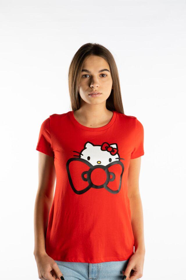 HELLO KITTY TEE 633 RED
