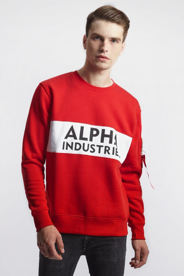 INLAY SWEATER 328 SPEED RED
