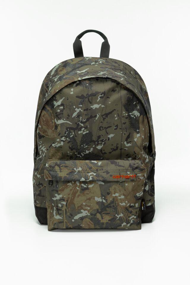 Payton Backpack I026877-0G291 CAMO COMBI/BLACK /SAFETY ORANGE