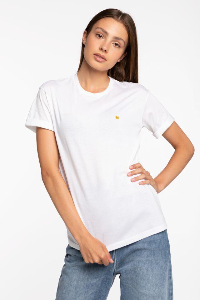 W' S/S Chase T-Shirt 900 WHITE