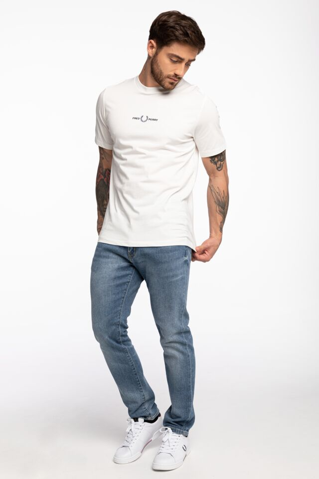 EMBROIDERED T-SHIRT M1609-129