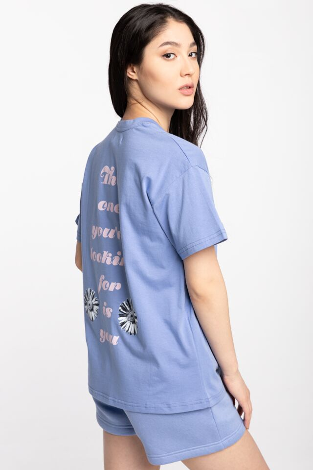 T-SHIRT DAMSKI YOU TEE SS21T0019