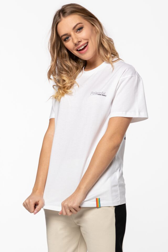 RIBBON TEE LHPLT0002 WHITE