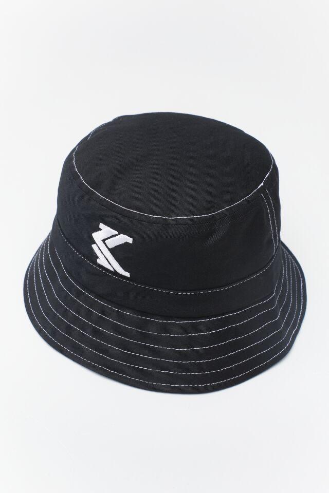 BUCKET HAT 046 BLACK/WHITE