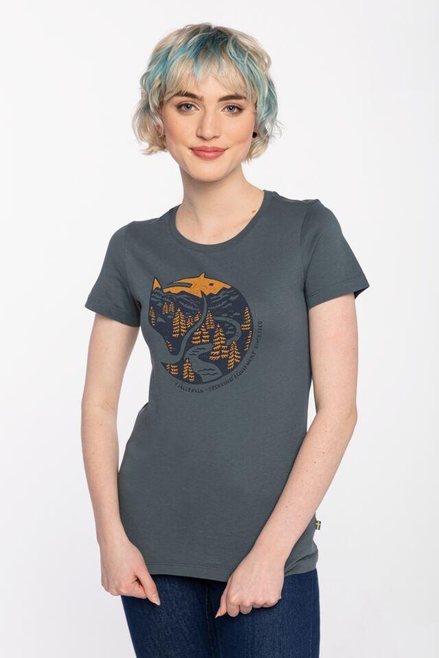 Arctic Fox Print T-shirt W F89849-42