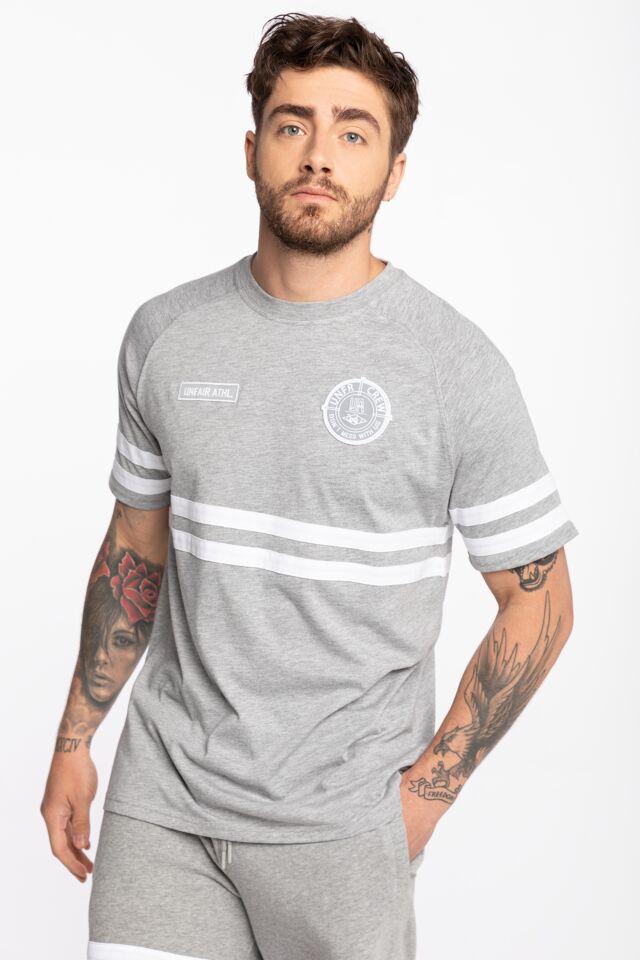 DMWU T-Shirt Grey Melange UNFR17-008