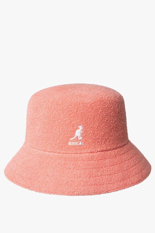 KAPELUSZ Bermuda Bucket Peach Pink K3050ST-PP694