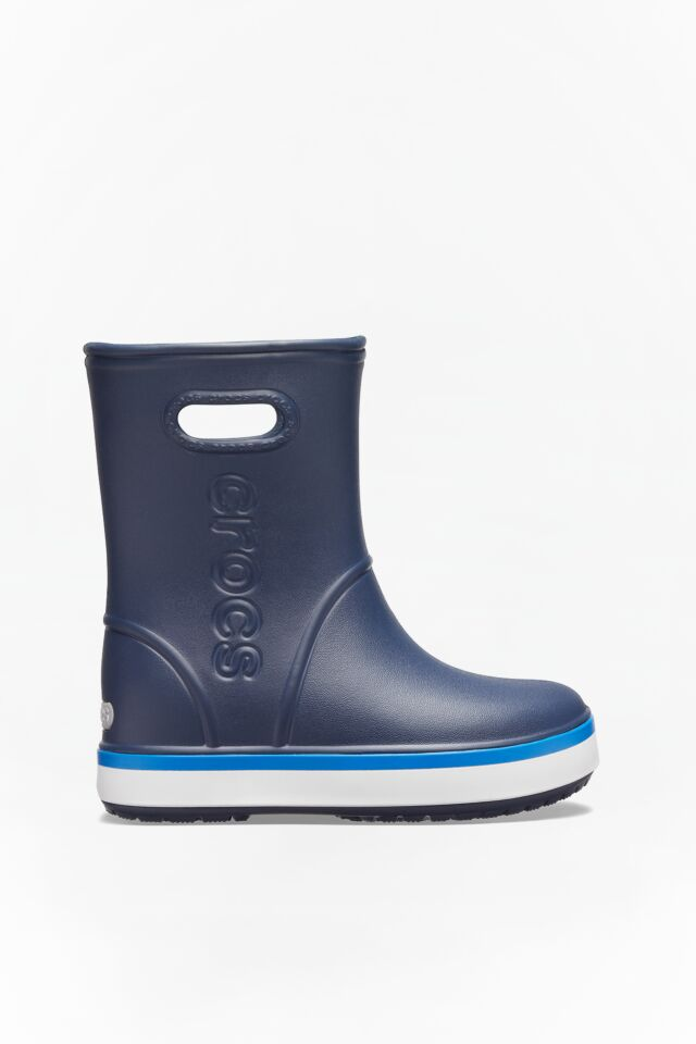 CROCBAND RAIN BOOT KIDS 205827 NAVY/BRIGHT COBALT