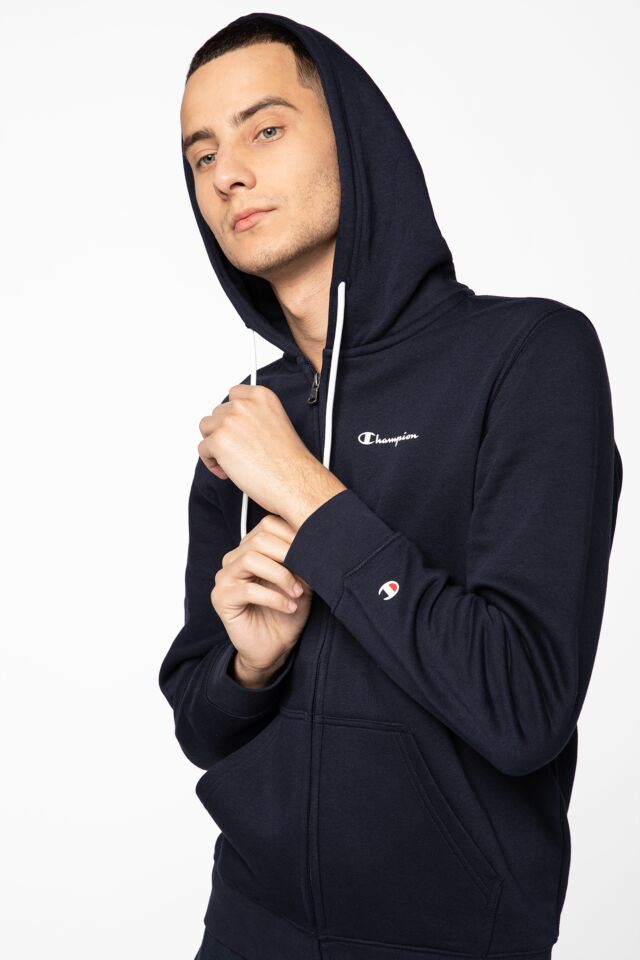 Hooded Full Zip Sweatshirt 214751-BS501 NAVY
