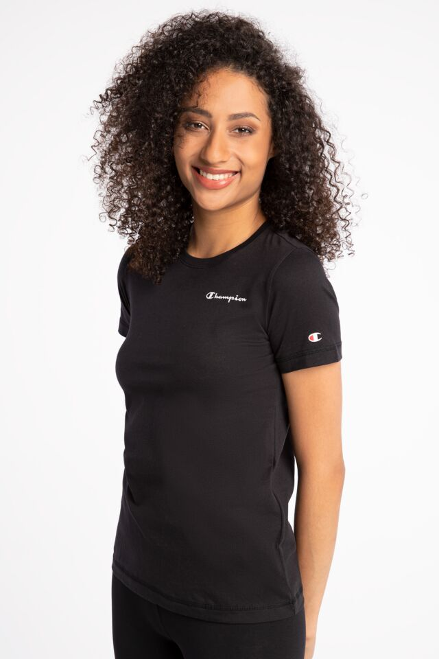 Z KRÓTKIM RĘKAWEM Crewneck T-Shirt 113225-KK001