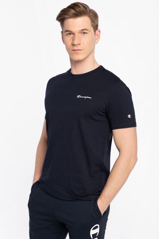 Z KRÓTKIM RĘKAWEM Crewneck T-Shirt 214755-BS501