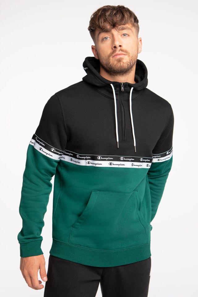 Hooded Half Zip Sweatshirt 216564-GS502